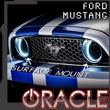 2010-2013 Mustang GT ORACLE Foglight Halo Kit White-Surface Mount 1334-001