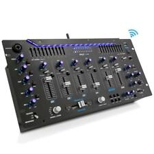 "Pyle PYD1964B Bluetooth 6-Channel DJ Mixer 19"" 5U w/LED Illuminated Controls"