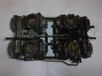 87 YAMAHA XVZ1300 XVZ 1300 XVZ13DT OEM CARBS CARBURETORS SET (FOR REBUILD)