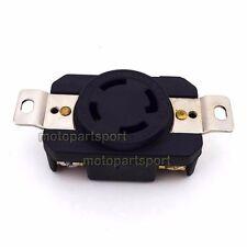 4 Prong Receptacle Twist Lock Socket  NEMA L14-30R UL Approval 30AMP 125/250V