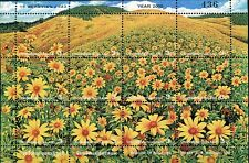THAILAND STAMP 2000 MEADOW OF BUA TONG DOI MAE UKOR SHEET