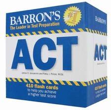NEW - Barron's ACT Flash Cards