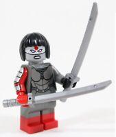LEGO BATMAN KATANA MINIFIGURE FIGURE 76055 & SWORDS - DC SUPERHEROES SQUAD