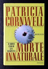 Patricia Cornwell, Morte innaturale, Ed. Mondadori, 1998