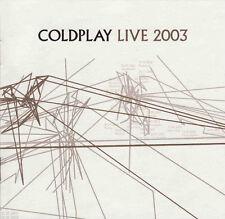 Coldplay Live 2003 promo enhanced cd
