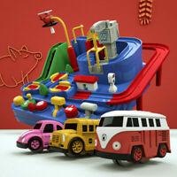 Kids Car Adventure Game  Manipulative Rescues SquadTrack Rail Educational Toys
