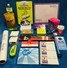 (22) Drug Rep Pharma Items for DOCTORS OFFICE + (10) BONUS Items