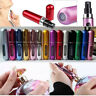 5ml Mini Refillable Perfume Atomizer Bottle for Travel Spray Scent Pump Case New