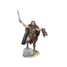 AG057 Greek Hoplite with Raised Sword by First Legion