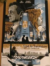 Signed Lost in Translation Alexander Iaccarino Silkscreen Poster Print #/75