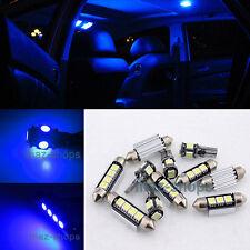 Blue LED Light Interior Package kit 11PC for Volkswagen VW CC  2009 - 2013