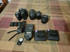 Canon Eos 80D 24.2Mp Digital Slr camera bundle W/ 18-135mm, 50mm, 35mm and more