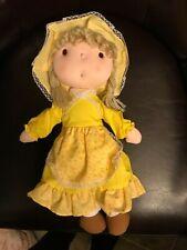 Artmark Chicago Ltd Ohio license # 8325 cloth doll (holly hobby?)