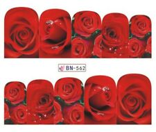 Nagelsticker Tattoo Blume Rosen Ornamente Flower Rose Sticker Fingernagel Nail