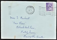 GB 1967 FIRST DAY COVER, NEW DEFINITIVE ISSUE 1/- SG742 WITH INVERTED DATE STAMP