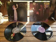 Stevie Nicks Bella Donna Vinyl LP  & The Wild Heart Lot of 2 Records