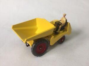 Dinky Farm Yellow Dumper  (repaint)