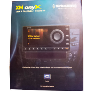 Siriusxm XDNX1V1 Home Satellite Radio, 10 Channel, FM Transmitter and LCD, Black
