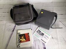 Vintage Polaroid Spectra Instant Film Camera With Case Manual Retro Untested