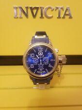 Invicta 11876 52mm Russian Diver Chronograph Date Polyurethane Mens Watch