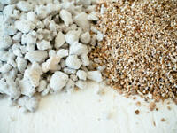 PERLITE & FINE GRADE  VERMICULITE SEED STARTING  ALL QUANTITIES  bagged separate
