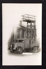 Burnley Corporation Transport Department - Works Vehicle - real photographic p/c