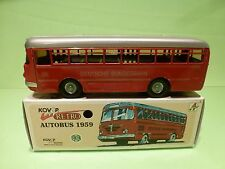 KOVAP CKO REPLICA PN05 AUTOBUS 1959 - DEUTSCHE BUNDESBAHN - RED L19.0cm - IN BOX