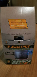 New The PowerPot V Thermoelectric Generator Charge Your Device with Heat 5 Watt