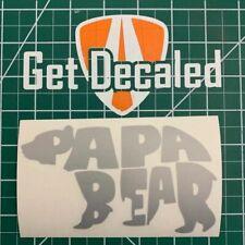 Papa Bear - High Quality Custom Vinyl Car & Truck Decals / Stickers