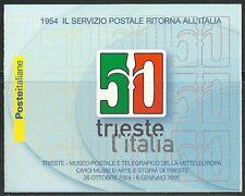 Italia Repubblica 2004 L 24 50 ° Anniversario Ritorno Trieste all'Italia MNH