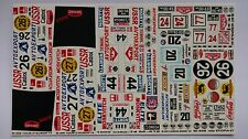 1:43 Decals for Moskvitch-408 Rally 1967, 1968, 1974; Moskvitch-412 Rally 1974