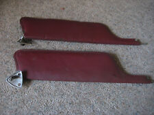 Vintage 1968 1969 Ford Mustang Sun Visor Withmount C8ab 6204122 B Red 2