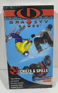 GRAVITY GAMES: CHILLS AND SPILLS WINTER ONE (VHS, 2000) BRAND NEW