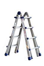 Scala telescopica in alluminio Marchetti Equipe 8 8 pioli