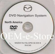 2006 2007 2008 Mazda Mazda3 Mazda6 CX-7 CX-9 RX-8 Navigation DVD Map U.S Canada