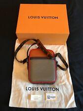 Diseñador Louis Vuitton Danube PM Bolsa Bolsa Bolso de Mano Cuero M53423 Epi Raro Raro