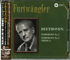 WILHELM FURTWANGLER-BEETHOVEN: SYMPHONY NO.1 & 3-JAPAN SACD HYBRID G35