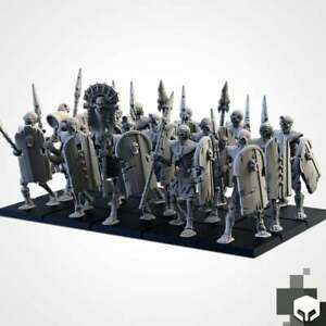 Lanciers Squelettes X20 Rois Des Tombes Warhammer AOSigmar T9A Old World