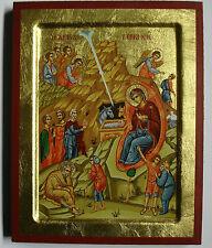 Geburt Jesu Ikone Ikonen Icon Icona Icoon Ikona Icoon orthodox Weihnachtsikone