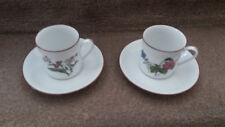 JKW Bavaria Coffee cups and saucers