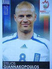 Panini 373 stelios giannakopoulos Greece UEFA Euro 2008 Austria Switzerland