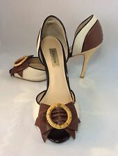 Dune Women's Textile Stiletto High Heel (3-4.5 in.) Shoes