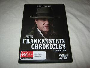 The Frankenstein Chronicles - Season 2 - Sean Bean - VGC - DVD - R4