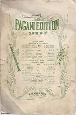 MADDALENA   F. Della Rosa # SPARTITO  - Pagani Edition  New York