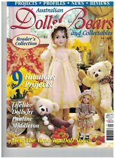 Australian Dolls & Bears Magazine Vol 7 No. 9 patterns instructions to make
