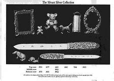 Gorgeous Miniature Sterling Silver Rectangular Frame