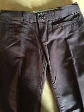 Tommy Hilfiger Women's Pants 6 Dark Brown Wide Hardly Worn