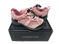 New Girls Lands End 66538 Trekker Carnation Pink Shoe Youth Size 12