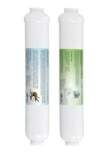 Filter Set - Sedimentfilter & Aktivkohlefilter Wasserfilter Osmose Umkehrosemose