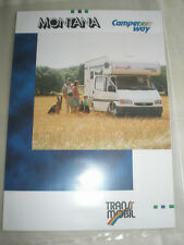 Montana Camper Way Motor Home brochure 1995 German text + price list